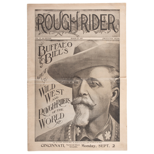 Buffalo Bill Wild West Programs for 1905 and 1908, Plus