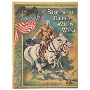 Rare Buffalo Bill Wild West Program for 1906