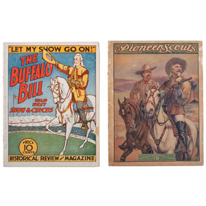 Buffalo Bill Wild West Programs for 1910, 1911, 1912/13 and 1917