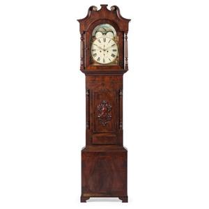English Tall Case Clock, Signed J. Kingerley