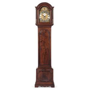 English Tall Case Clock, Signed Thomas Gray