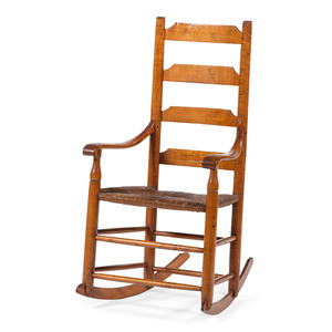 New England Ladderback Armchair