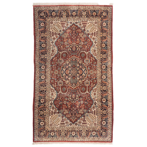 Chinese Silk Tabriz Rug