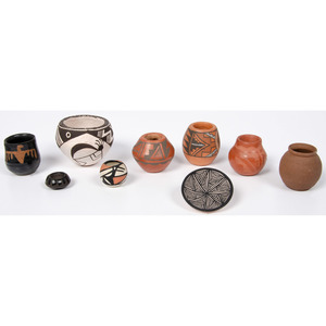 Collection of Miniature Pueblo Pottery