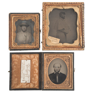 Private Jonas Shattuck, 26th Massachusetts Infantry, Five Tintypes Incl. Civil War-Date Portraits