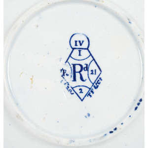 Painted Plates with Eagle Motifs