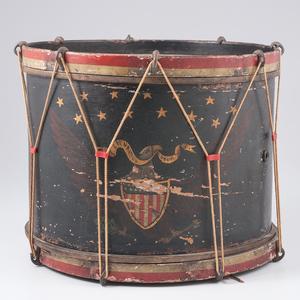 19th Century Drum by John C. Haynes & Co.