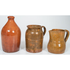 New England Redware Vessels