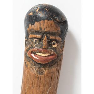 African-American Folk Art Cane