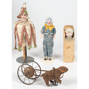 Assorted French and German Toys