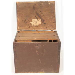 Indiana 8th Infantry, Civil War Field Desk Containing Over 500 Documents Related to the Regiment