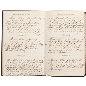 Civil War Diary of Thomas Mains, 33rd Independent Battery, Light Artillery, NYSV