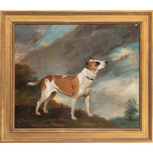 English Painting of a Staffordshire Terrier