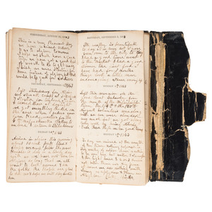 Civil War Diary of 2nd Lieutenant John Ripley, 8th Vermont Infantry