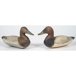 Canvasback Drake Decoys