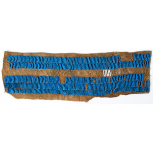 Northern Plains Beaded Fragment