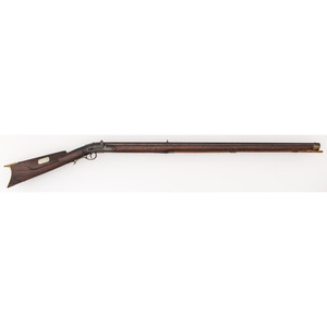 Side-Hammer Full-Stock Percussion Rifle