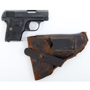 ** Colt Model 1908 Semi-Automatic Pocket Pistol with Holster
