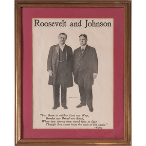 Roosevelt & Johnson Jugate Campaign Poster