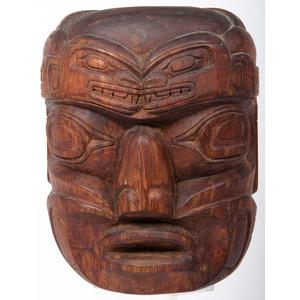 Henry Hunt (Haida, 1923-1985) Carved Wood Mask