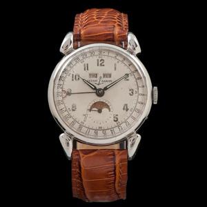 Ulysse Nardin Triple Calendar Moon Phase Wristwatch