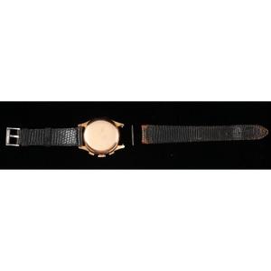 Chronographe Suisse Anti-Magnetic 18k Rose Gold Wristwatch