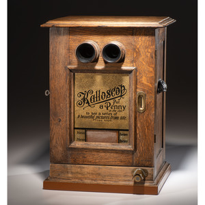 Kalloscop Coin-Operated Stereo Viewer