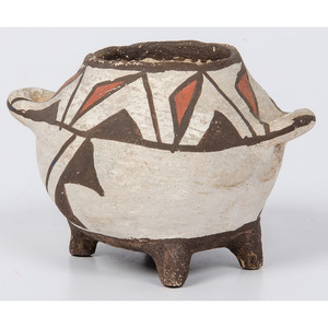 Zuni Polychrome Pottery Jar