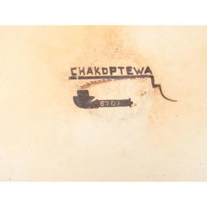 Michael Hawley, Chakoptewa (Adopted Hopi, 1948-2012) Polychrome Pottery Jar