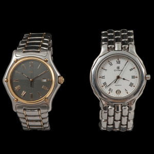 Cyma and Ebel Wristwatches, Lot of Two