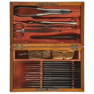 Post-Civil War Surgical Kit by J.H. Gemrig, Philadelphia