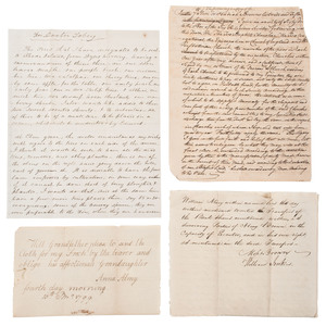 Anna Almy Jenkins, Quaker and Granddaughter of Brown University Founder, Moses Brown, Archive Featuring Correspondence, Wills, and Documents from the Religious Society of Friends