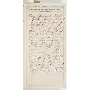 Civil War Diaries of Jared P. Hubbard, 2nd New Hampshire Volunteers