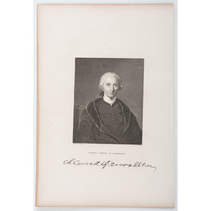 Charles Carroll of Carrollton, Signer of the Declaration of Independence, ALS, Plus