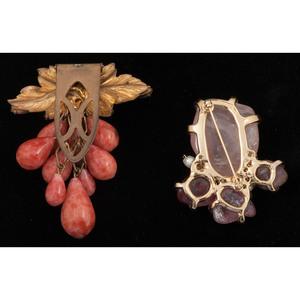 Boucher Brooch and Earrings PLUS