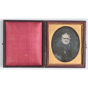 Sixth Plate Daguerreotype of an Aged Gentleman