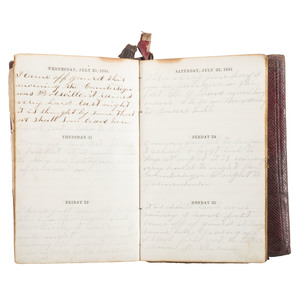 1864 Civil War Diary of Eli Rockwell, 13th New York Heavy Artillery