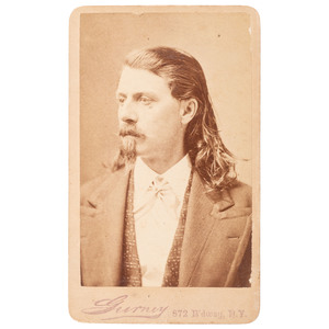 Buffalo Bill Cody CDV by Gurney