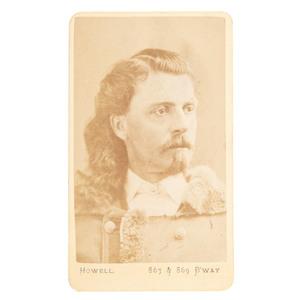 Rare Buffalo Bill Cody CDV by Howell