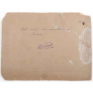 Buffalo Bill Cody Signed and Inscribed Large Format Photograph, by Hemment
