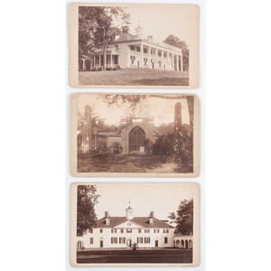 Mount Vernon, Three Cabinet Cards, Ca 1880s