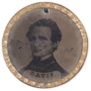 Jefferson Davis & P.G.T. Beauregard 1861 Ferrotype
