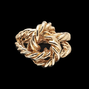 14k Gold Knot Ring