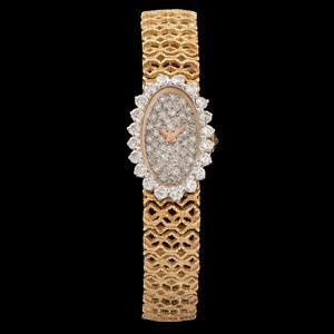 18k Gold Diamond Watch