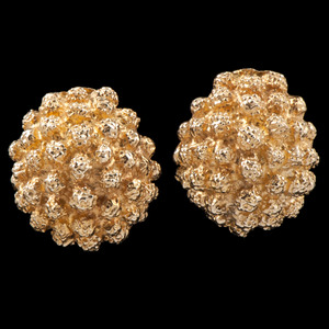 Tiffany & Co. Vintage 14k Gold Earrings