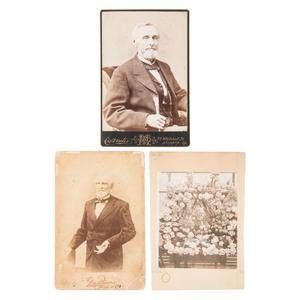 Jefferson Davis, Cabinet Cards, Incl. Last Known Photograph