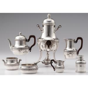 Risler & Carré .950 Silver Tea Service