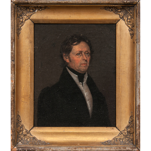 Early 19th Century American Portrait of a Man, Oil on Canvas