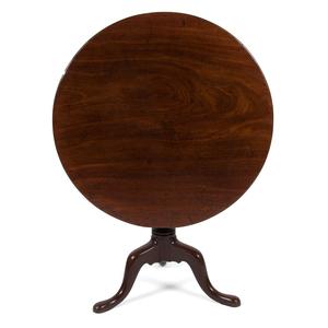 Tilt Top Table in Walnut
