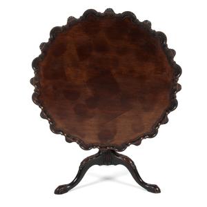 Pie Crust Tilt Top Table